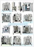 重慶通瑞白色系列多款濾油機產品展示