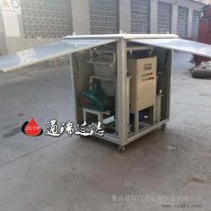 江陰XHSJ國際貿易成交ZJB-20變壓器油濾油機一臺